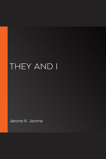 They and I - cover