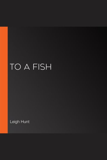 To a Fish - cover