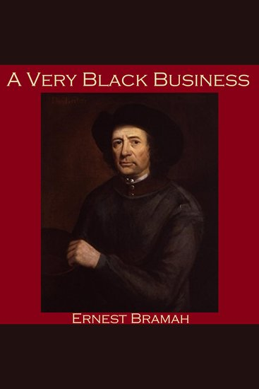 A Very Black Business - cover