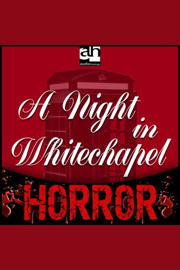 Night in Whitechapel A - A Tale of Terror - cover