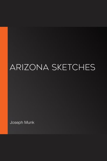 Arizona Sketches - cover