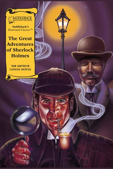 Great Adventures of Sherlock Holmes The (A Graphic Novel Audio) - Illustrated Classics - cover
