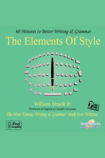 The Elements of Style - 60 Minutes to Better Writing & Grammar - cover