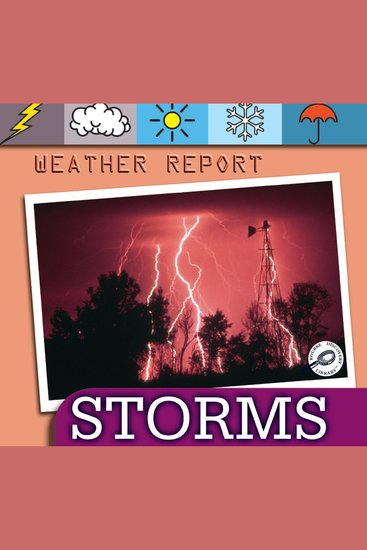 Storms - Earth Science - Weather Report - cover
