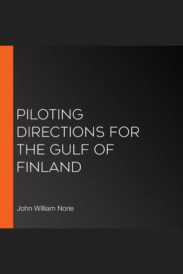 Piloting Directions for the Gulf of Finland - cover