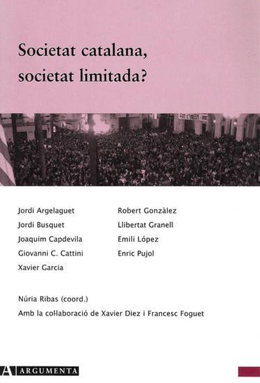 Societat catalana, societat limitada? - cover