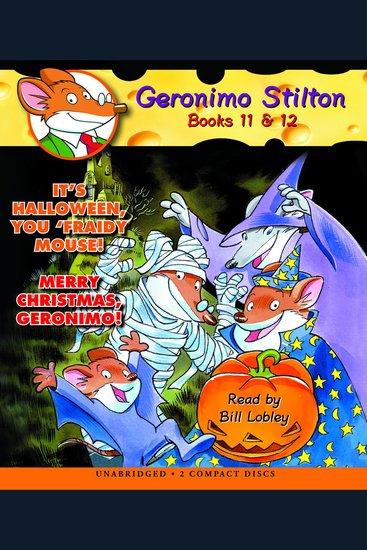 Geronimo Stilton: Books 11 & 12 - #11 It\'s Halloween You \'Fraidy ...