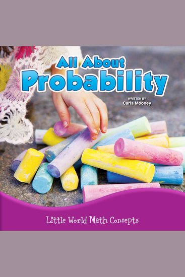 All About Probability - Little World Math Concepts - cover