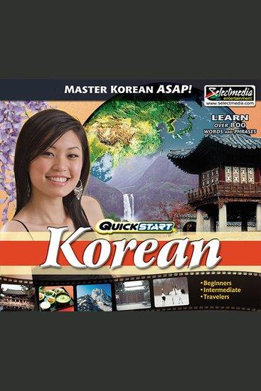 Quickstart Korean - cover
