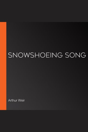 Snowshoeing Song - cover