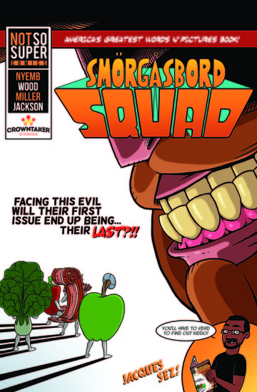 Smogasbord Squad Vol 1 - cover