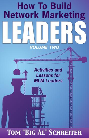 How To Build Network Marketing Leaders Volume Two: Activities and Lessons for MLM Leaders - How To Build Network Marketing Leaders #2 - cover