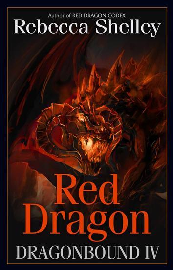 Dragonbound IV: Red Dragon - Dragonbound #4 - cover