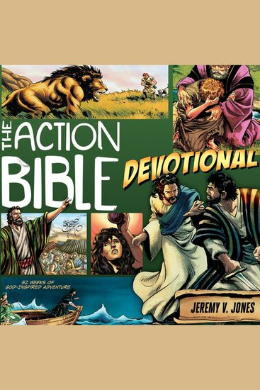 The Action Bible Devotional - 52 Weeks of God-inspired Adventure - cover