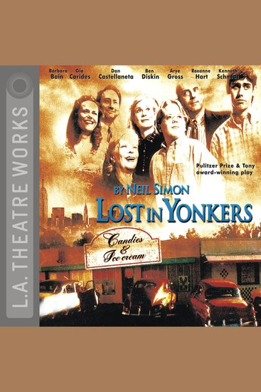 Lost in Yonkers - cover