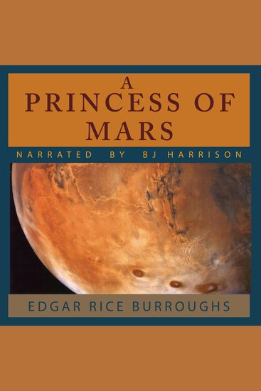 A Princess of Mars - Barsoom Book 1 - cover