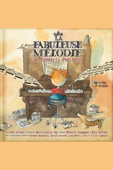 La Fabuleuse mélodie de Frédéric Petitpin - cover