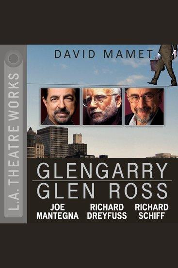 Glengarry Glen Ross - cover