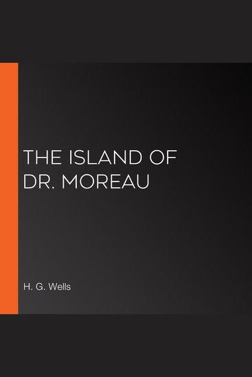 The Island of Dr Moreau - cover