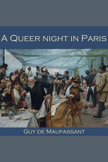 Queer Night in Paris A - cover
