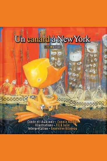 Un canard à New York - cover