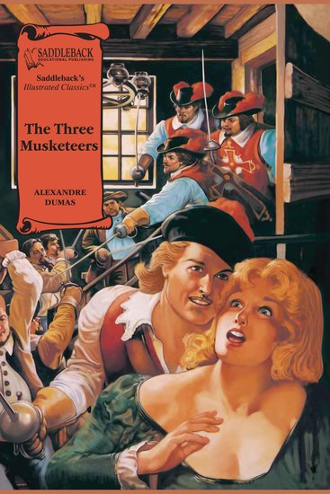 Three Musketeers The (A Graphic Novel Audio) - Illustrated Classics - cover