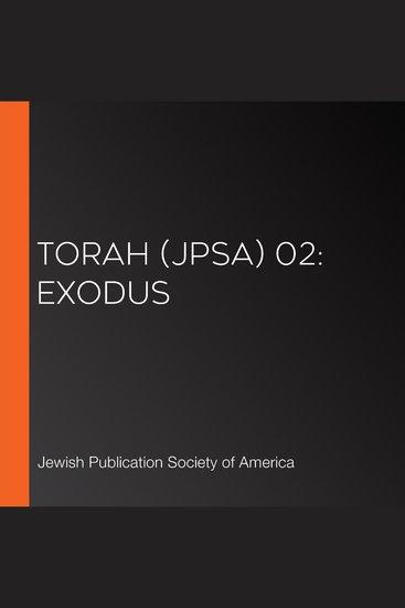Torah (JPSA) 02: Exodus - cover