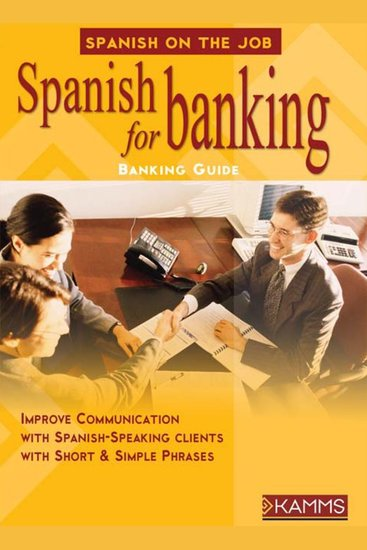 Spanish for Banking - cover