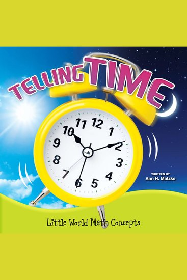 Telling Time - Little World Math Concepts - cover