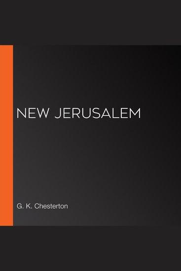 New Jerusalem - cover
