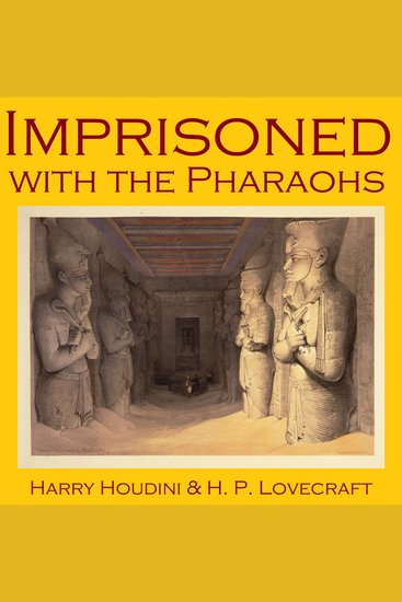Imprisoned with the Pharaohs - cover