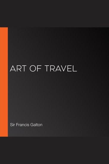 Art of Travel - cover