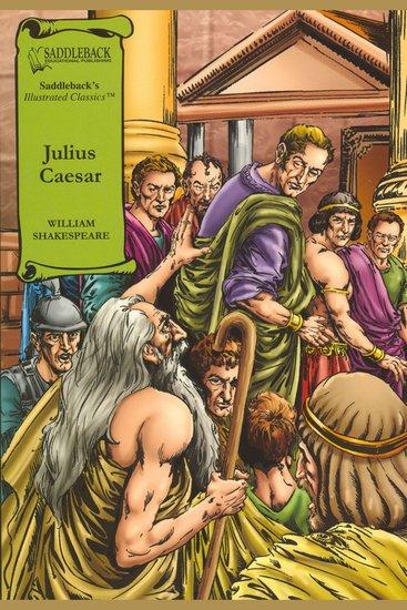 Julius Caesar (A Graphic Novel Audio) - Graphic Shakespeare - cover