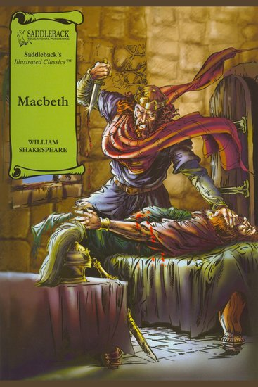 Macbeth (A Graphic Novel Audio) - Graphic Shakespeare - cover