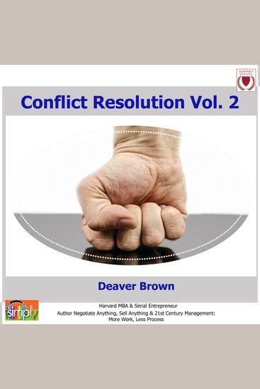 Conflict Resolution Vol 2 - Abridged Version - cover