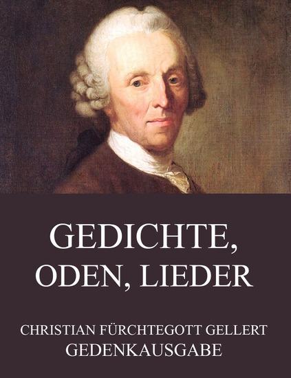 Gedichte Oden Lieder - Erweiterte Ausgabe - cover