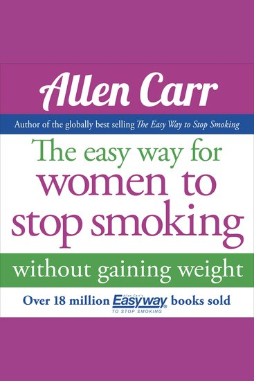 The Easy Way for Women to Stop Smoking - cover