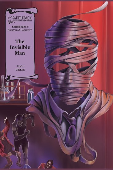 Invisible Man The (A Graphic Novel Audio) - Illustrated Classics - cover