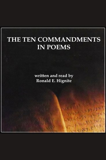 The Ten Commandments in Poems - cover