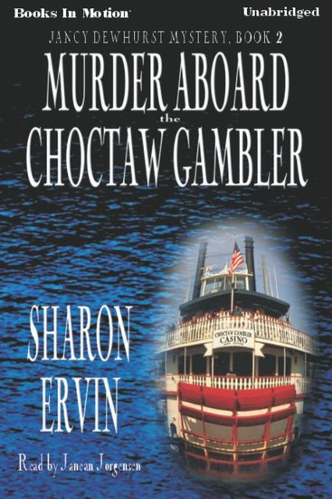 Murder Aboard the Choctaw Gambler - cover