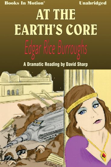 At The Earth's Core - cover