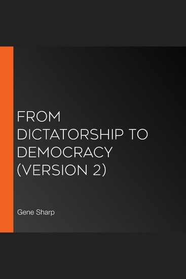 From Dictatorship to Democracy (version 2) - cover