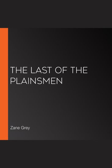 The Last of the Plainsmen - cover