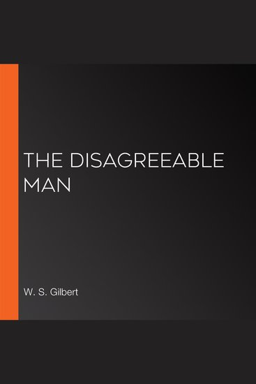 The Disagreeable Man - cover