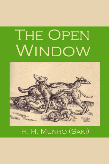 The Open Window - cover