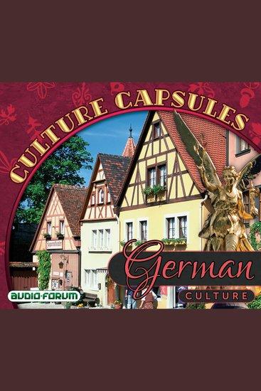 German Culture Capsules - cover