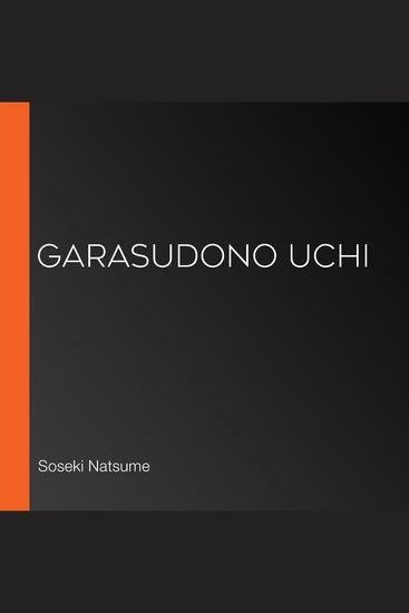 Garasudono uchi - cover