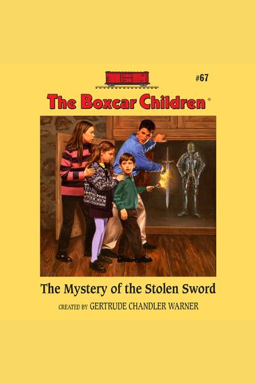 The Mystery of the Stolen Sword - cover