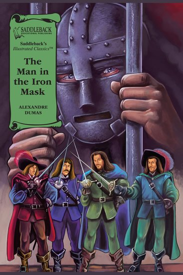 Man in the Iron Mask The (A Graphic Novel Audio) - Illustrated Classics - cover