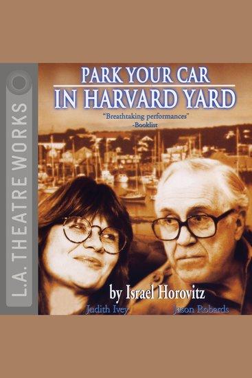 Park Your Car in Harvard Yard - cover